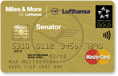 Lufthansa Miles and more Senator Credit Card