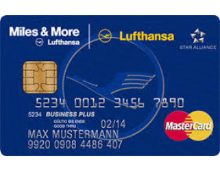Miles and More Credit Card Blue