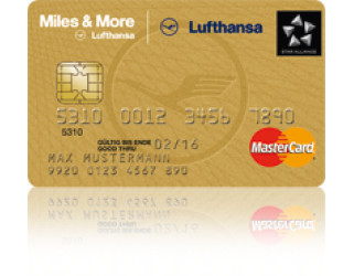 Miles and more Credit Card Gold