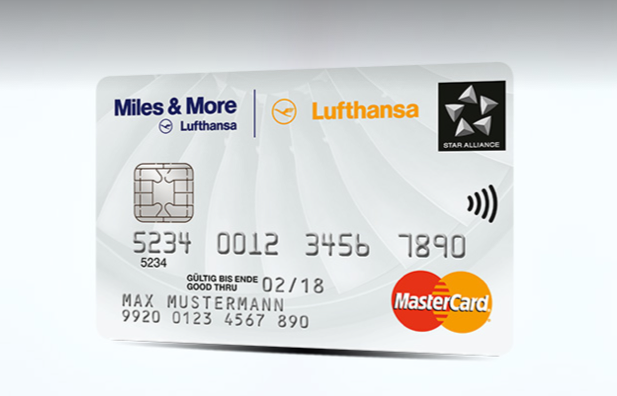 miles and more credit card white