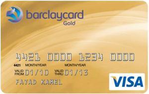 Barclaycard Visa Karte Gold