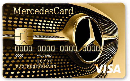 Mercedes Visa Card Gold