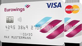 Eurowings Kreditkarte: Visa und MasterCard Classic