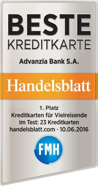 Advanzia MasterCard Gold Test