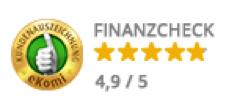 Finanzcheck.de Bewertung