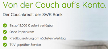 SWK Bank Couchkredit