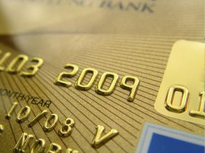 Prepaid Kreditkarte mit Hochprägung