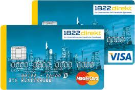 1822 direkt kreditkarte