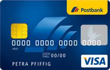 Postbank Prepaid Visa Kreditkarte