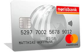 norisbank mastercard trotz schufa